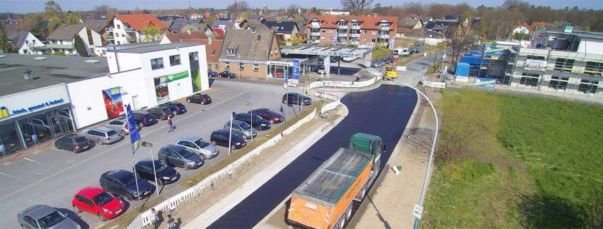 Ortsdurchfahrt e-Center Hövelhof
