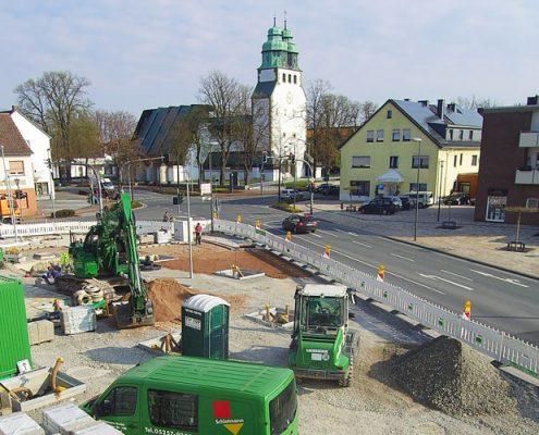 Umbau Henkenplatz Hövelhof
